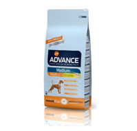 ALIMENTO ADVANCE MEDIUM ADULT 14KG