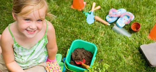 Acerca la jardinería a los niños de forma divertida