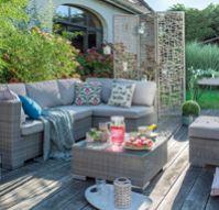 conjunto mueble de jardín