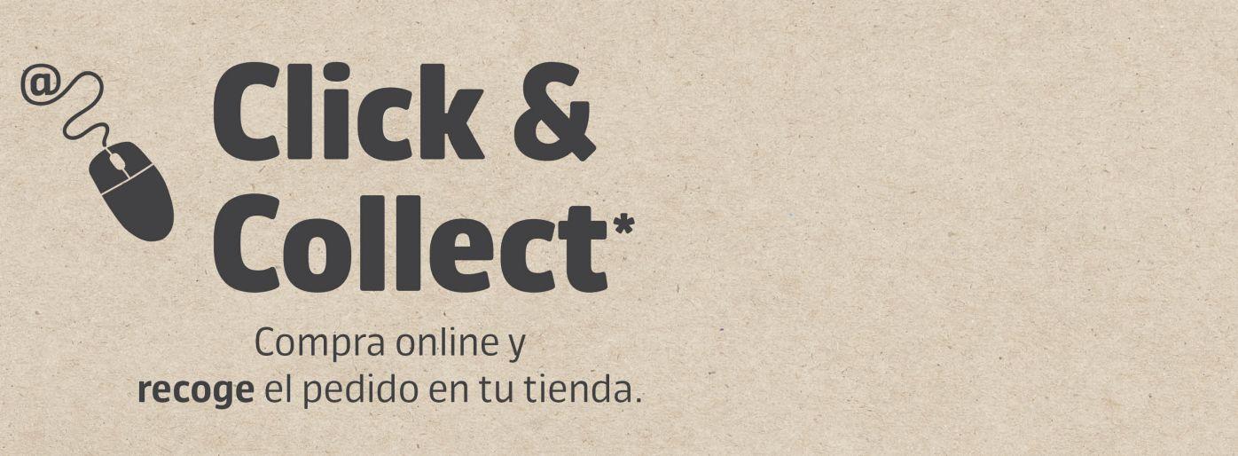 click & collect, compra online y recoge en tienda