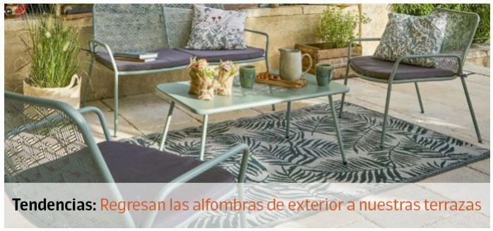 alfombras terraza
