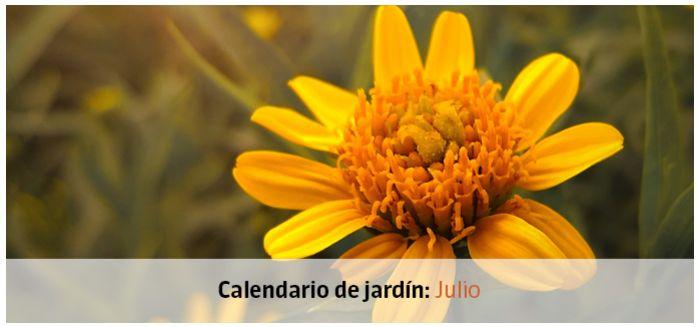 calendario jardin julio