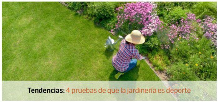 jardineria deporte